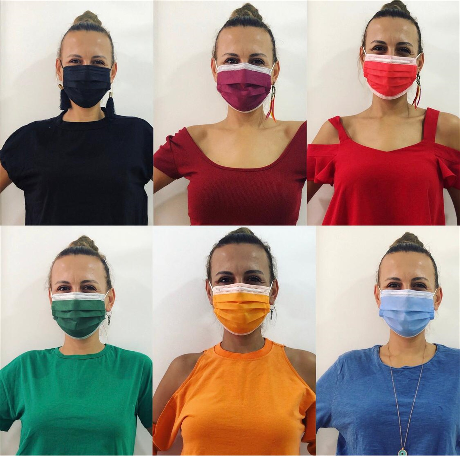 10lu Telli Full Ultrosonic Maske